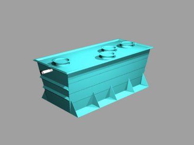 Sistema de tratamiento de aguas, tanque de agua, septico y captacion tanque de agua septico plástico reforsado FILTRO ANAEROBIO Plantas tratamiento