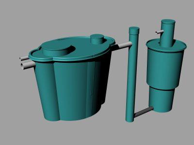 Sistema de tratamiento de aguas, tanque de agua, septico y captacion tanque de agua septico plástico reforsado FILTRO ANAEROBIO Plantas tratamiento tanque de agua septico plástico reforsado FILTRO ANAEROBIO San Jose Costarica Panama